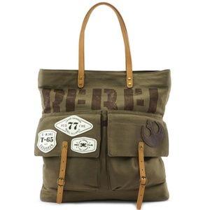 Loungefly Star Wars Rebel Resistance Tote Bag